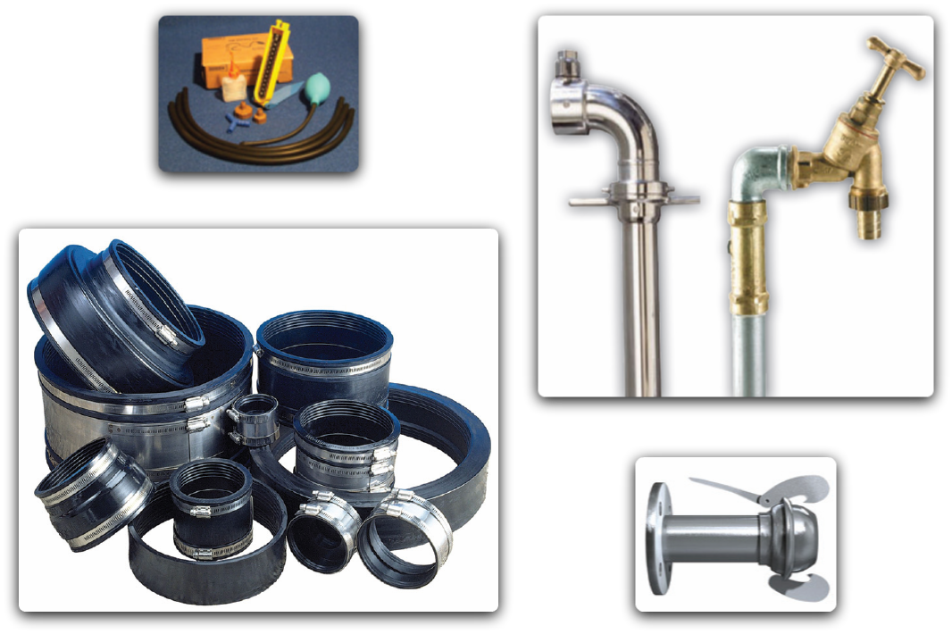 pipeline accessories and consumables